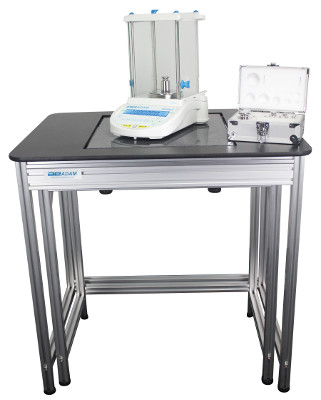 Nimbus Analytical Balance on the AVT Anti-Vibration Table