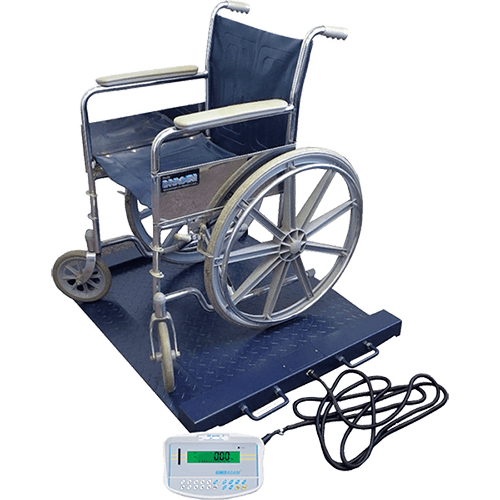 PTM Wheelchair Weighing Scale with Wheelchair
