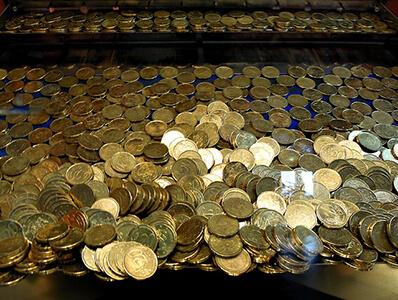 Coin Pusher Arcade Machine