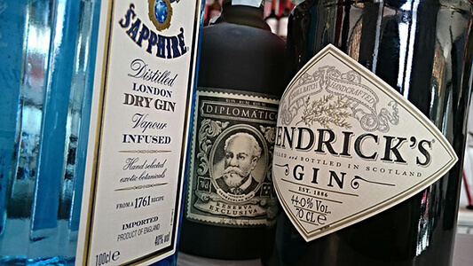 Gin Weight & Proof