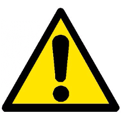SWL (Safe Working Load) Caution Sign