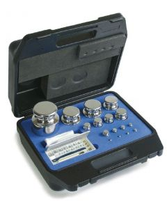 Kern F1 Class Calibration Test Weight Polished Stainless Steel Box Sets