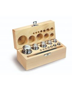 Kern M1 Class Calibration Test Weight Finely Turned Stainless Steel Wooden Box Sets