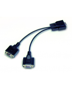 CFS-A04 Y cable for parallel connection of two terminal devices to the RS-232 interface on the scale