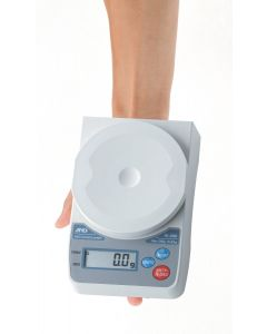 A&D HL-i Compact Scale - held in hand