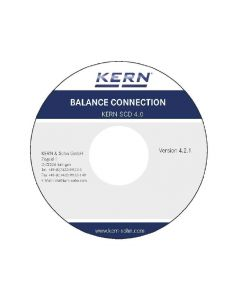 SCD-4.0 Balance Connection Software - For direct transmission of data to Windows applications