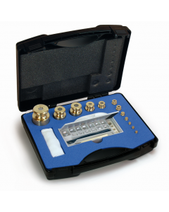 Kern M1 Class Calibration Test Weight Finely Turned Brass Box Sets