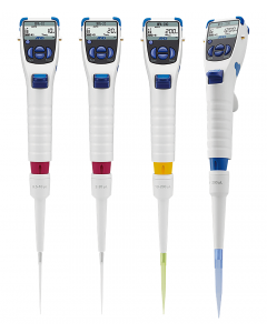 Full Range of A&D MPA Single Channel Electronic Pipettes.