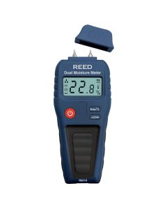 Reed R6018 Pin/Pinless Moisture Meter | Inscale UK