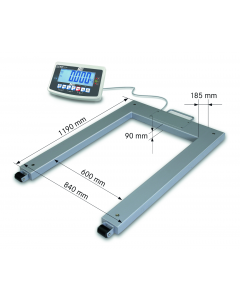 UFB Kern Approved Pallet Scale