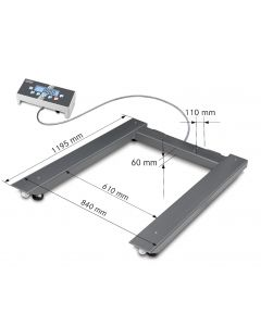 UID Kern Approved Pallet Scale