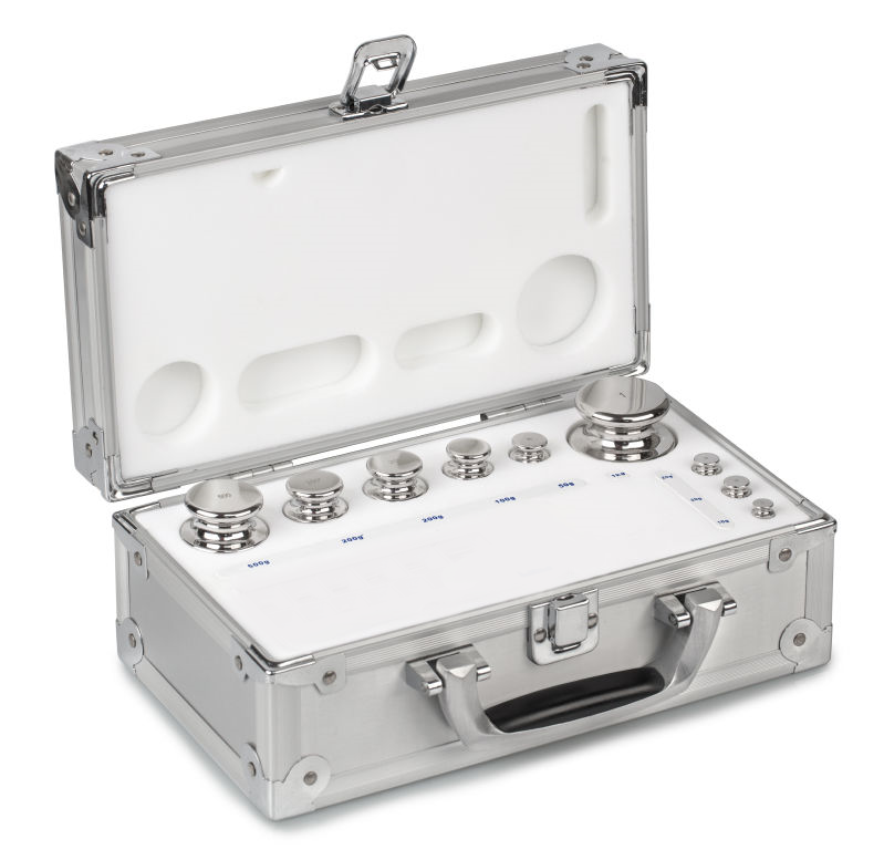 324-026 F1 Class 1g - 50g Boxed Test Weight Set