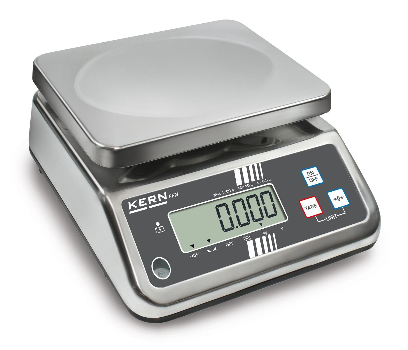 Kern FFN-N Approved Stainless Steel Bench Scale