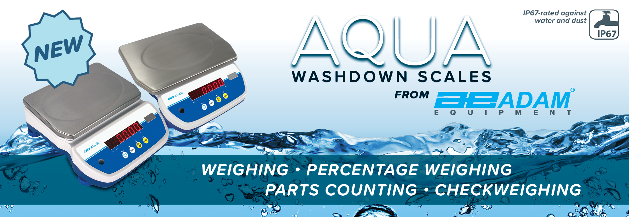 Aqua Washdown Bench Scale